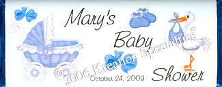 Baby Shower Boy  Favor- #2 Front