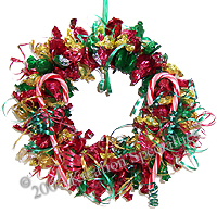 Christmas Candy Wreaths
