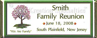 Family Reunion Candy Wrapper sample 1