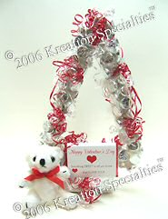 Valrntine's Day Candy Kisses Tree