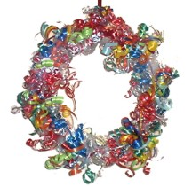 Candy Kisses�  Wreath