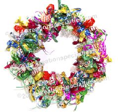 Anytime Mixed Candy Wreath